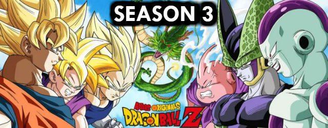 DBZ Season 3 Episodes English Dubbed