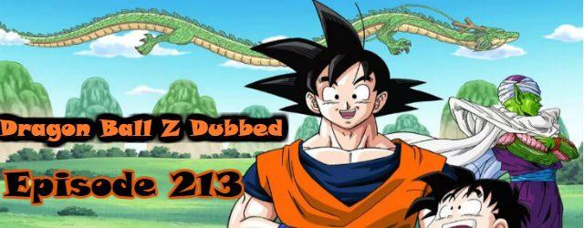 dragon ball z episode 213 english dubbed
